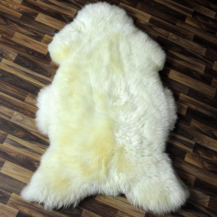 XL ÖKO Schaffell Fell braun 115x75 Braunbär sheepskin #5726