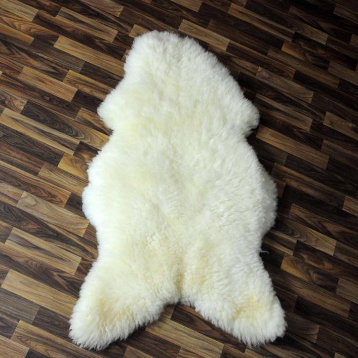 Island Schaffell grau schwarz geflammt 100x65 Auflage #5768