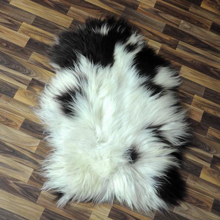 Island Schaffell grau schwarz geflammt 100x65 Auflage #5772
