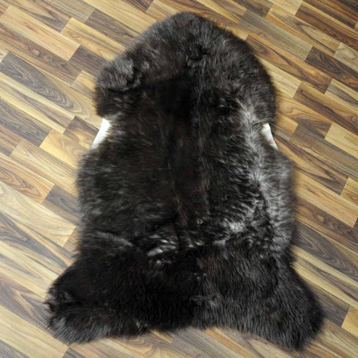 XL ÖKO Schaffell Fell creme weiß 110x75 sheepskin #5901