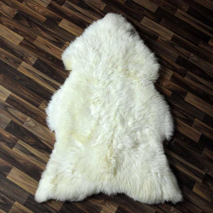 XL ÖKO Island Schaffell creme weiß 110x75 Fell Auflage #6073