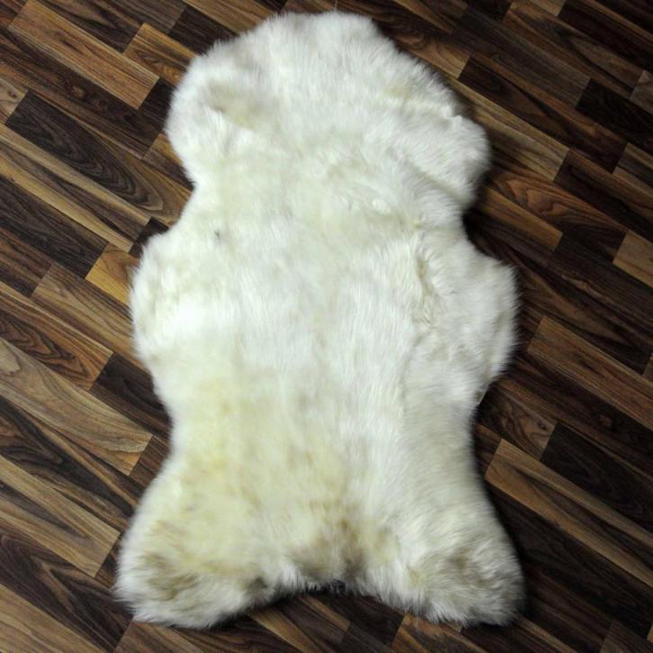 XXL ÖKO Island Schaffell schwarzbraun grau 125x85 #6089