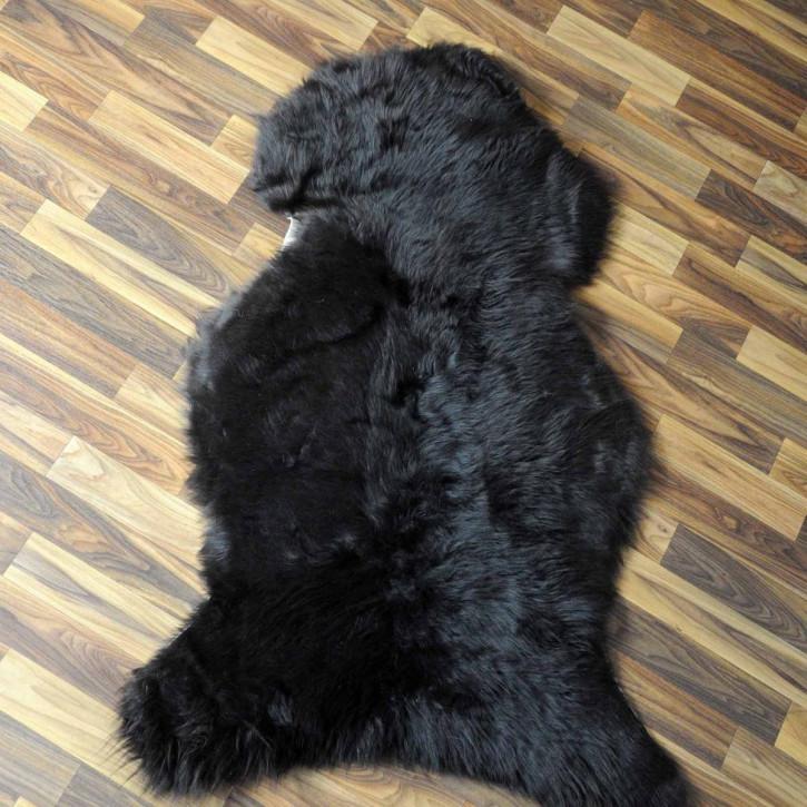 ÖKO Schaffell Lammfell Fell braun 105x75 Braunbär #6158