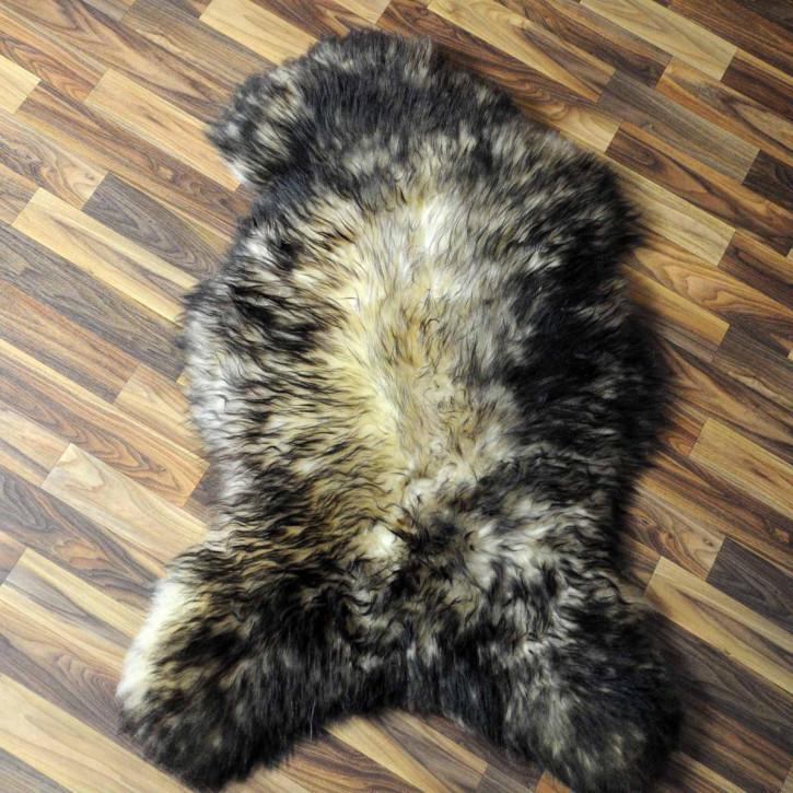 XL ÖKO Schaffell Fell Lamm beige braun grau 115x70 #6254