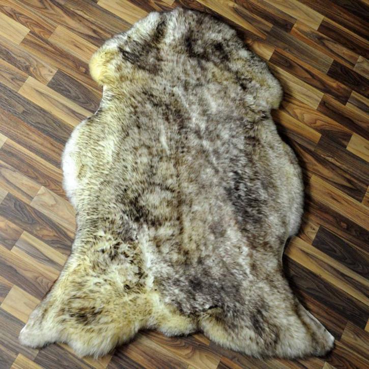 ÖKO Ziegenfell Ziege Fell 110x75 Kamindeko goatskin #6268