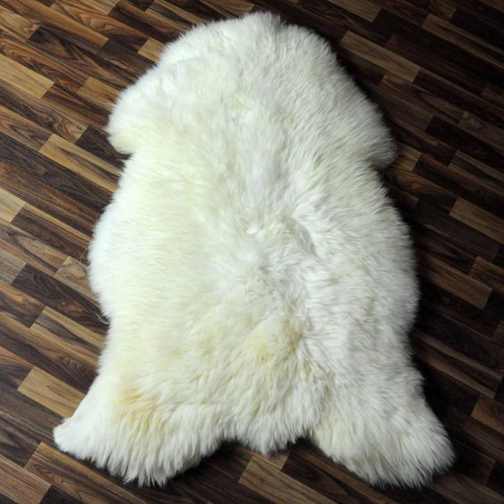 ÖKO Schaffell Fell creme weiß 100x65 sheepskin #6312