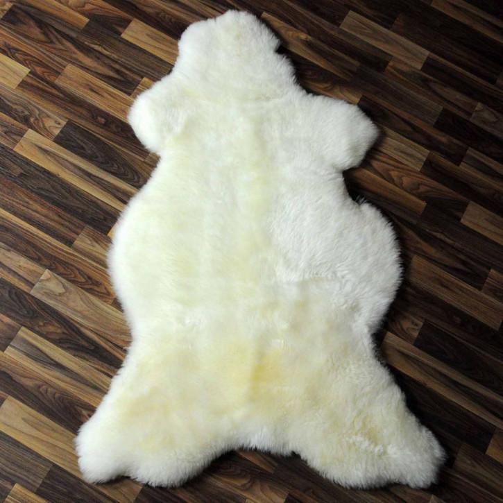 XXL ÖKO Schaffell Fell creme weiß 120x80 sheepskin #6339