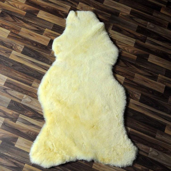 XXXL ÖKO Schaffell Fell creme weiß 130x80 sheepskin #6341