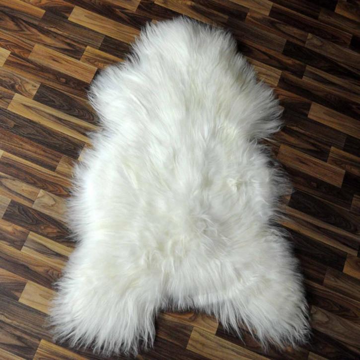 XXL ÖKO Island Schaffell schwarzbraun 120x80 Perchten #6491