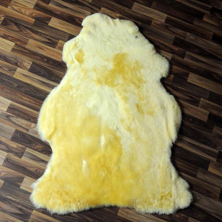XXL ÖKO Island Schaffell schwarzbraun grau 125x90 Perchten #6595