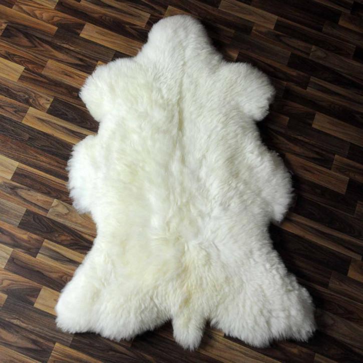 XXL ÖKO Schaffell Fell creme weiß 120x80 sheepskin #6829