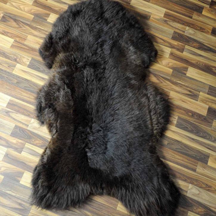 XXL ÖKO Schaffell Fell beige 120x80 sheepskin #6850