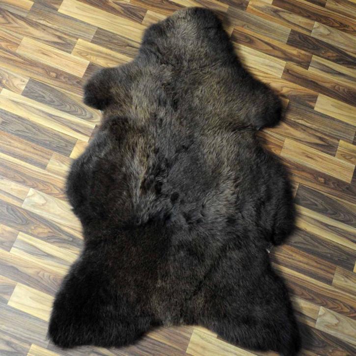 XL ÖKO Schaffell Fell beige 110x75 sheepskin #6851