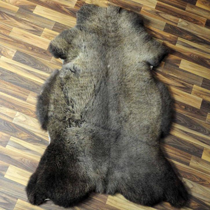 XL ÖKO Island Schaffell natur grau beige 110x70 #6856