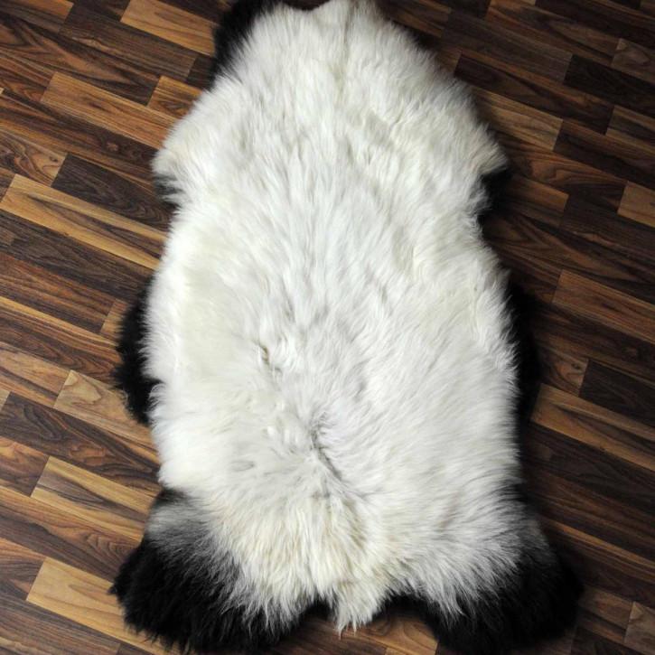 Island Schaffell Lammfell grau 105x65 Geschenk sheepskin #7002