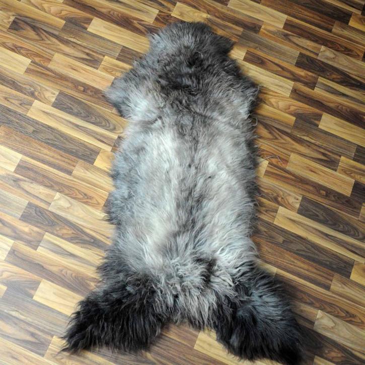 XL ÖKO Schaffell Fell creme weiß 110x80 geschoren Eisbär #7183