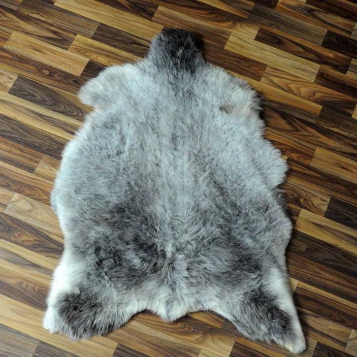 XL ÖKO Schaffell Fell creme weiß braun 110x75 geschoren Eisbär #7184