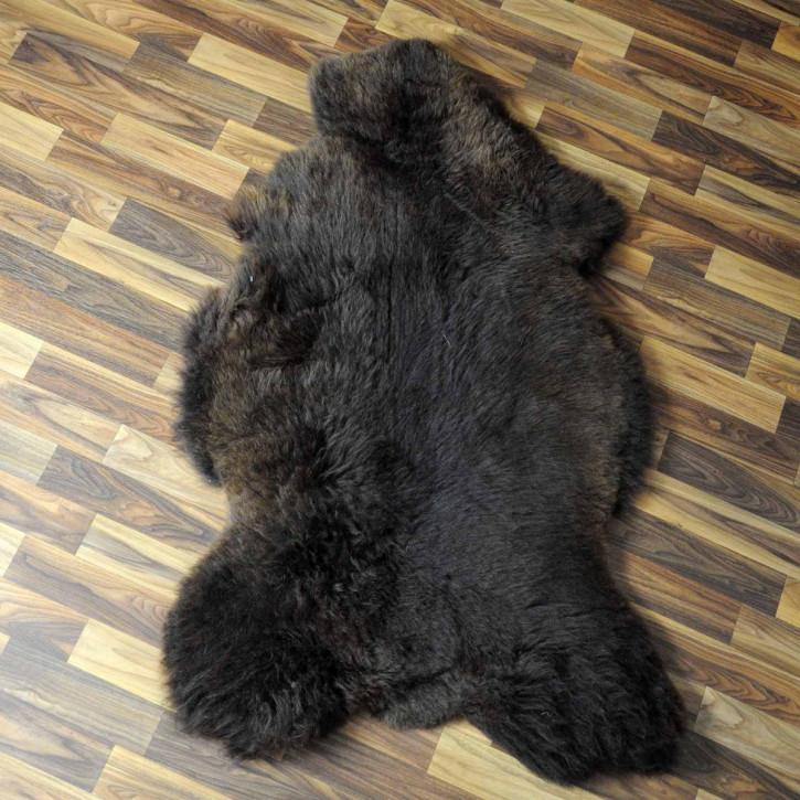 XL ÖKO Island Schaffell beige braun 110x75 Deko #7234