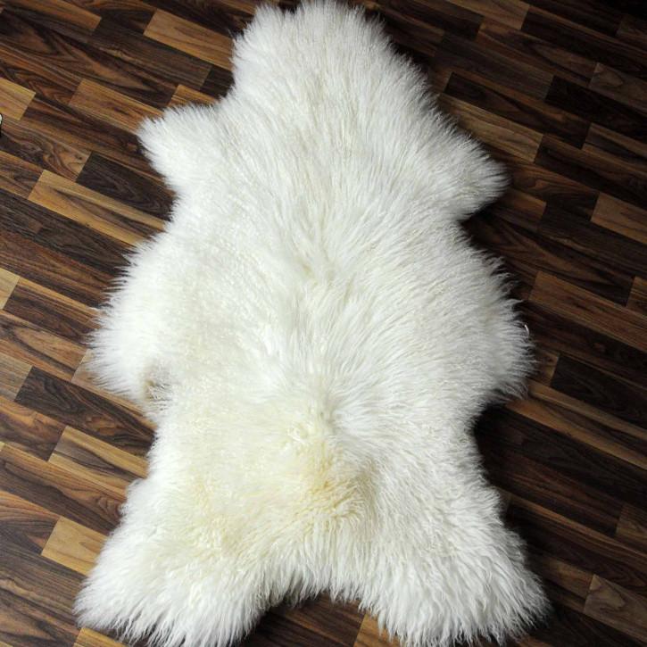 ÖKO Island Schaffell braun grau 95x65 Pelz kuschelig #7342