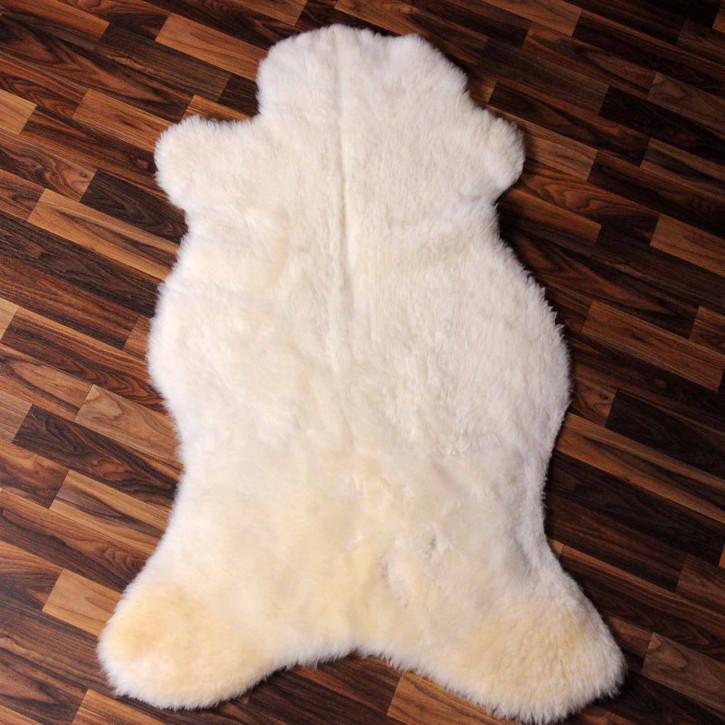 XXL ÖKO Island Schaffell natur grau braun 125x80 #7347