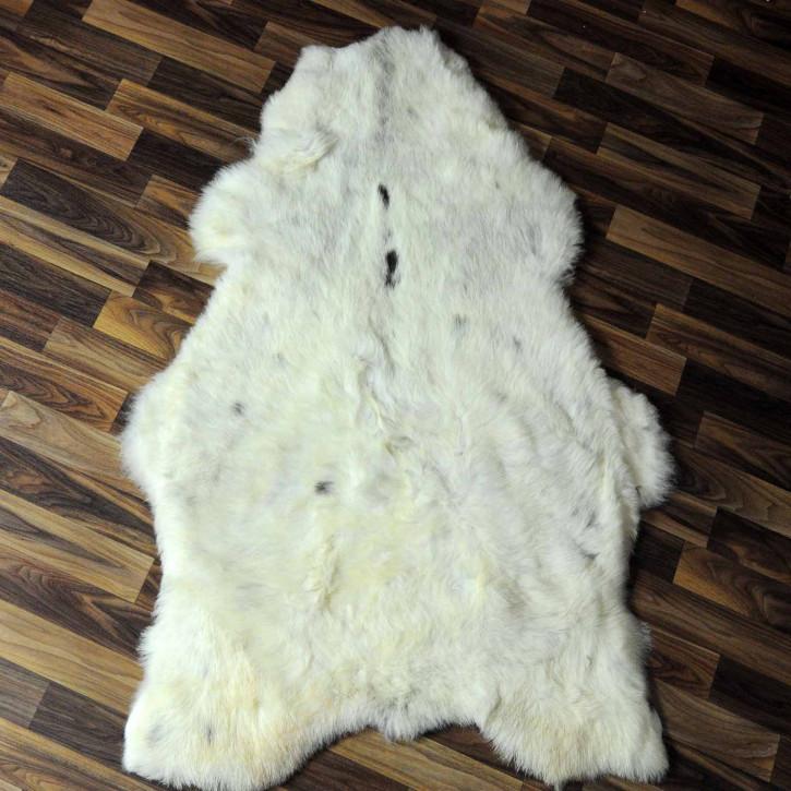 XXL ÖKO Island Schaffell braun grau beige 120x80 #7432