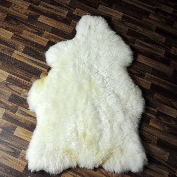 XL ÖKO Schaffell Fell Lammfell beige braun grau 115x80 Geschenk #7488