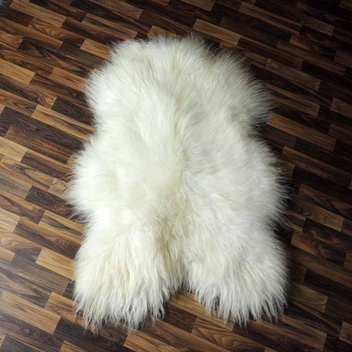 ÖKO Schaffell Lammfell Fell braun 90x65 sheepskin #7526