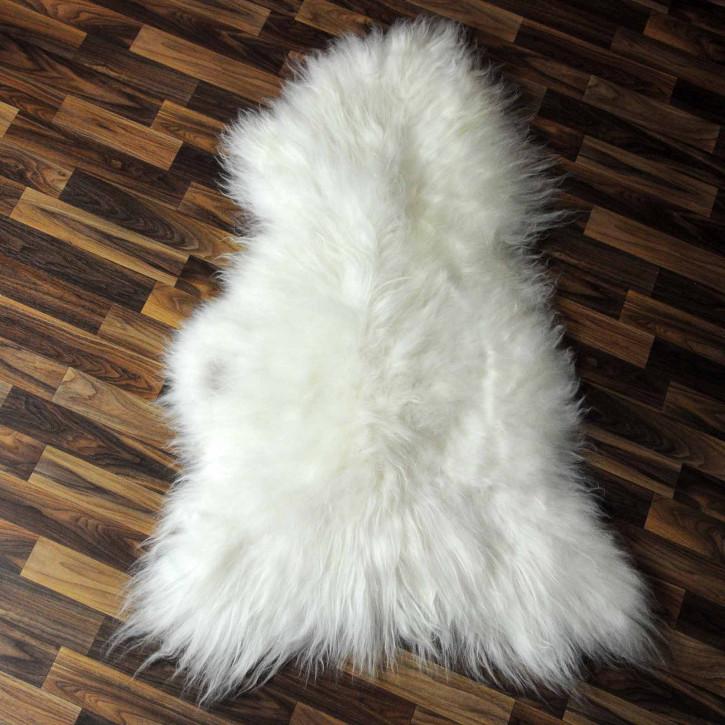XL ÖKO Schaffell Lammfell Fell braun 110x65 Geschenk #7534