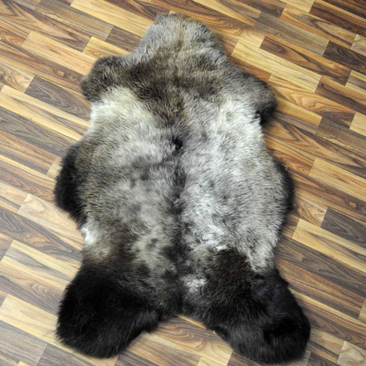 ÖKO Schaffell Fell braun 105x70 Auflage Braunbär #7711