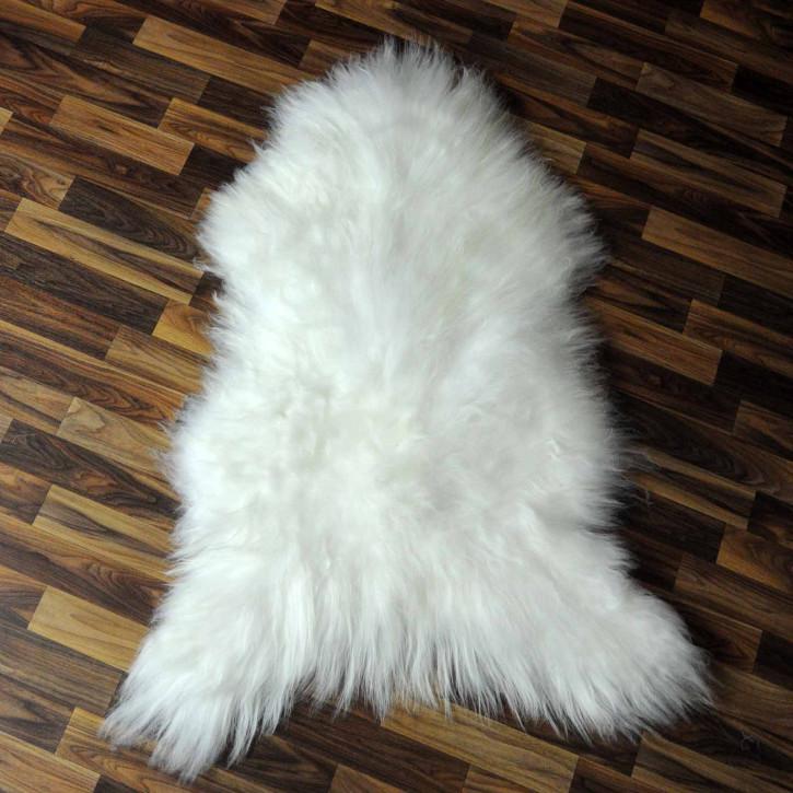 XXL ÖKO Island Schaffell natur grau schwarzbraun 125x75 #7723