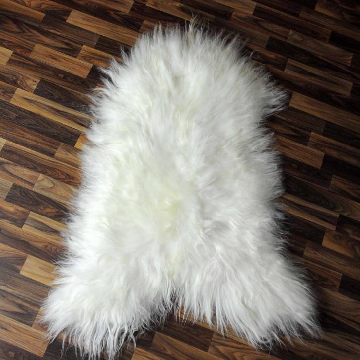 XL ÖKO Island Schaffell natur grau schwarzbraun 115x70 #7724
