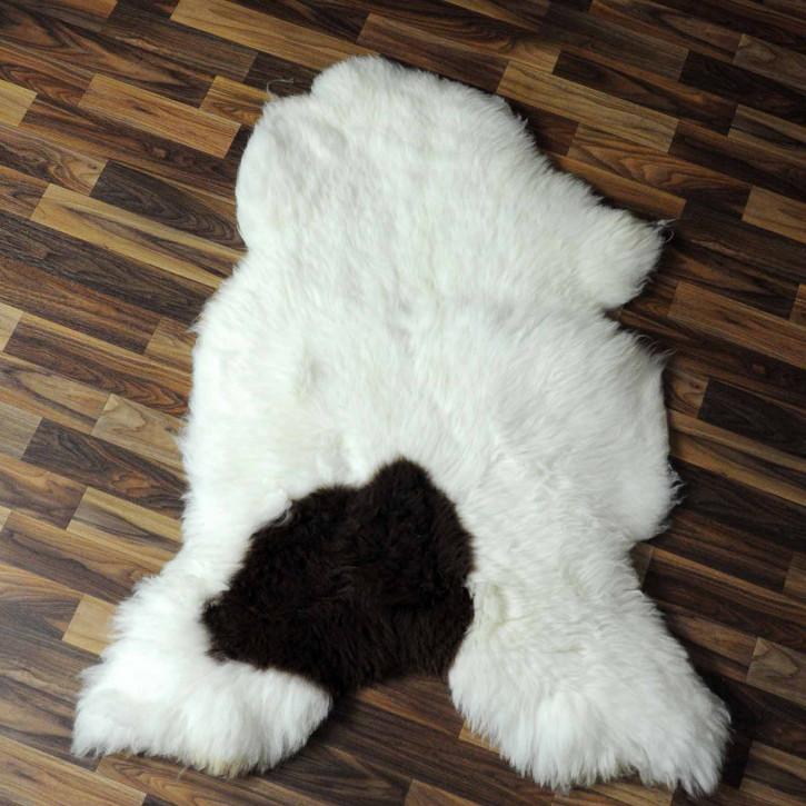 XL ÖKO Island Schaffell creme weiß 110x80 Present #7856