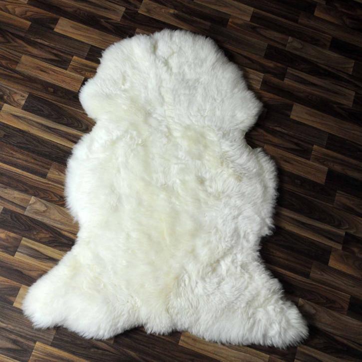 XL ÖKO Island Schaffell beige schwarzbraun 110x70 #7969