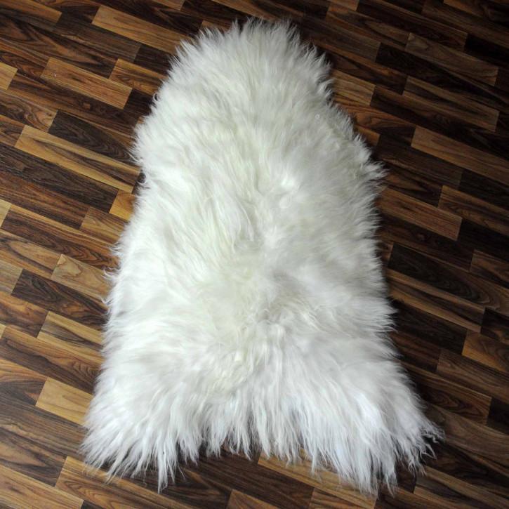 XXXL ÖKO Schaffell Fell creme weiß 140x85 sheepskin #8100
