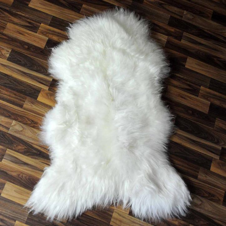 XXXL ÖKO Schaffell Fell creme weiß 140x80 sheepskin #8104