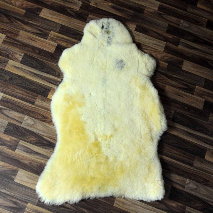 XXXL ÖKO Schaffell Fell creme weiß 135x75 sheepskin #8110