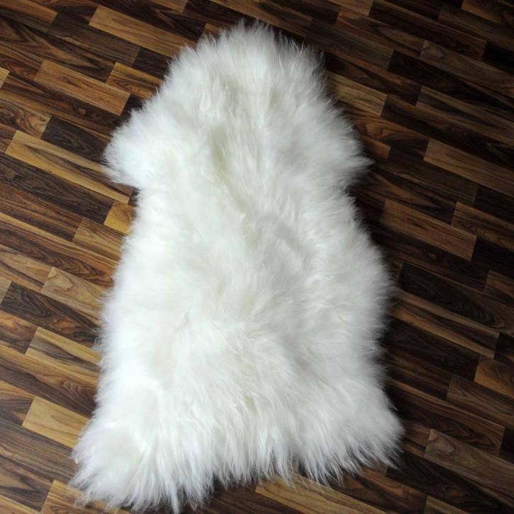 XXXL ÖKO Schaffell Fell creme weiß 130x75 sheepskin #8181