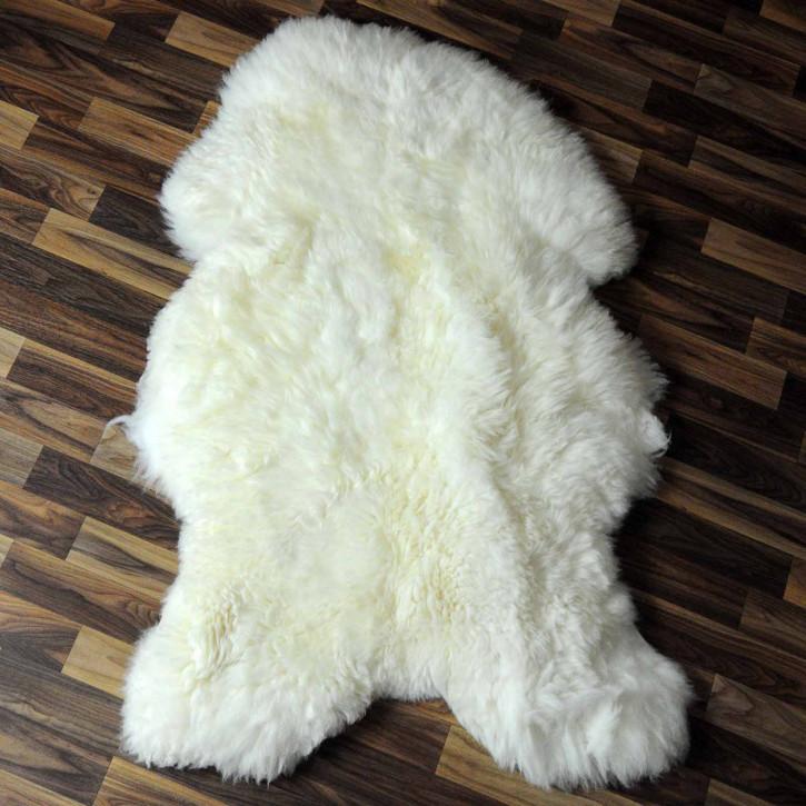XXXL ÖKO Schaffell Fell beige 130x80 sheepskin #8209