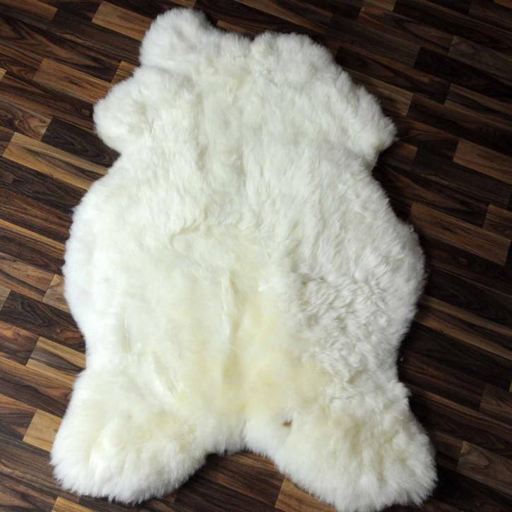 XL Island Schaffell grau schwarz geflammt 115x65 #8231