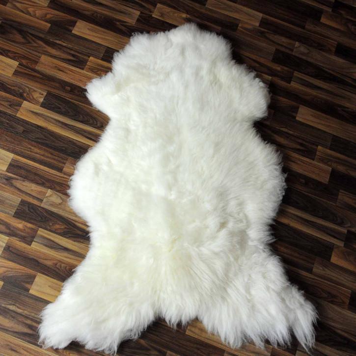 ÖKO Island Schaffell beige schwarzbraun 105x70 #8359