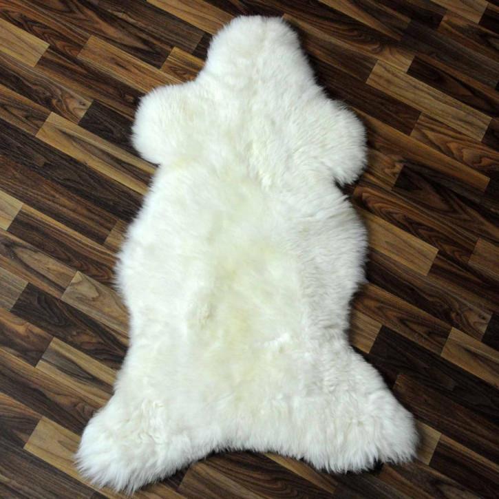 XL ÖKO Schaffell Fell creme weiß 115x75 sheepskin #9145