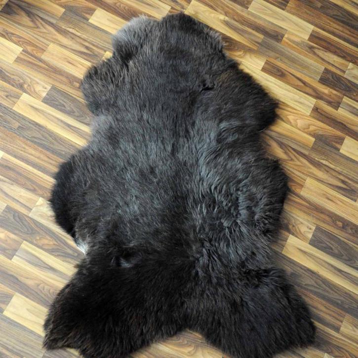 ÖKO Tibetlamm Schaffell Lammfell Fell 75x50 Tibet #9787