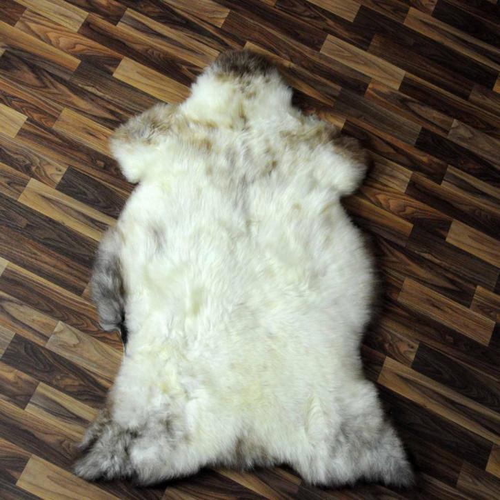 ÖKO Ziegenfell Ziege Fell 90x60 Kamindeko goatskin basteln #9865