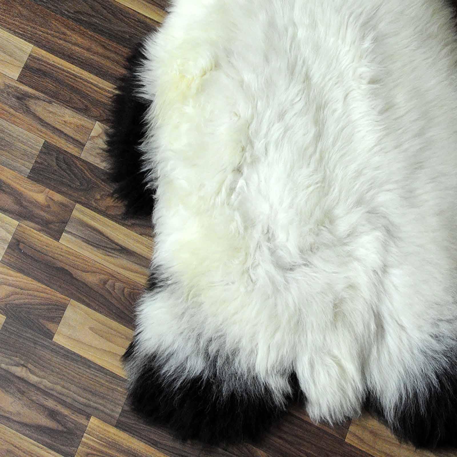 xxl ko schaffell fell lammfell braun grau 120x80 teppich. Black Bedroom Furniture Sets. Home Design Ideas