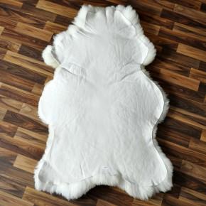 Angebot!! ÖKO Schaffell Lammfell sheep naturweiss 100-110 x 70-80 cm