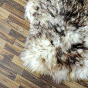 Island Schaffell grau schwarz geflammt 105x75 Auflage #2288