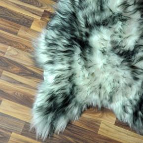 ÖKO Schaffellteppich Fell creme weiß 155x90 Teppich #4620