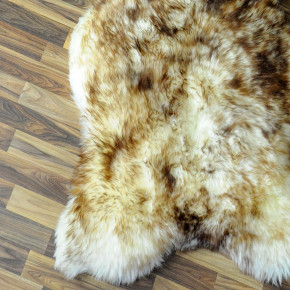XL ÖKO Island Schaffell natur grau schwarzbraun 115x80 #4809