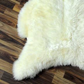 Island Schaffell grau schwarz geflammt 100x65 Auflage #5478