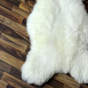 Island Schaffell grau schwarz geflammt 105x70 Auflage #5480